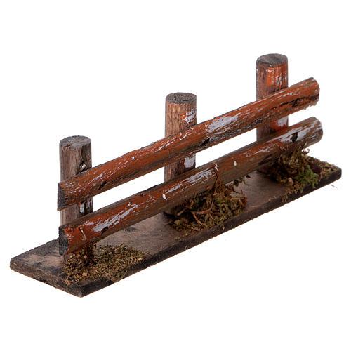 Valla de troncos 15 x 3,5  cm. 3