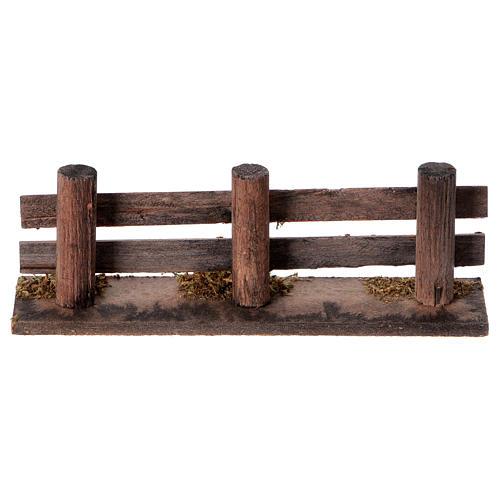 Staccionata in tronchi 15x3,5cm 4