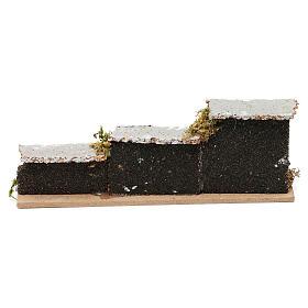 Accessoire crèche, mur de brique 15x5x3 cm (modèles assortis) s3