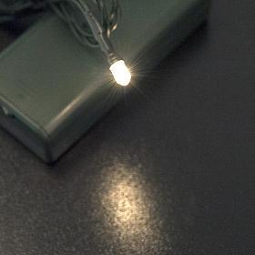 Miniluce 1 lampadina chiara 3V s2