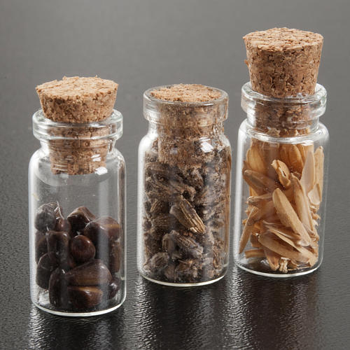 Nativity set accessories, jars with spices 2