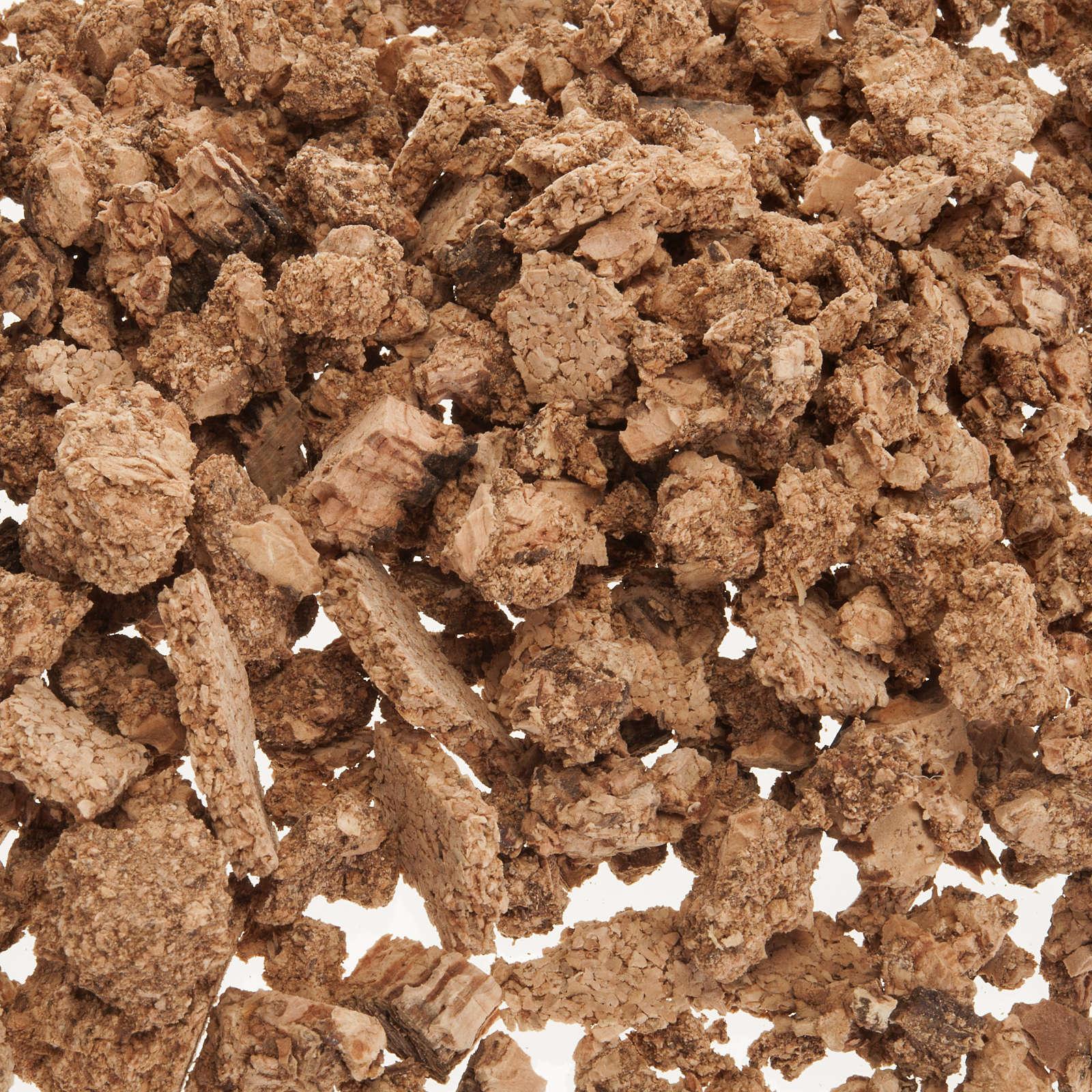 Podłoże do szopki: korek naturalny 50g 4