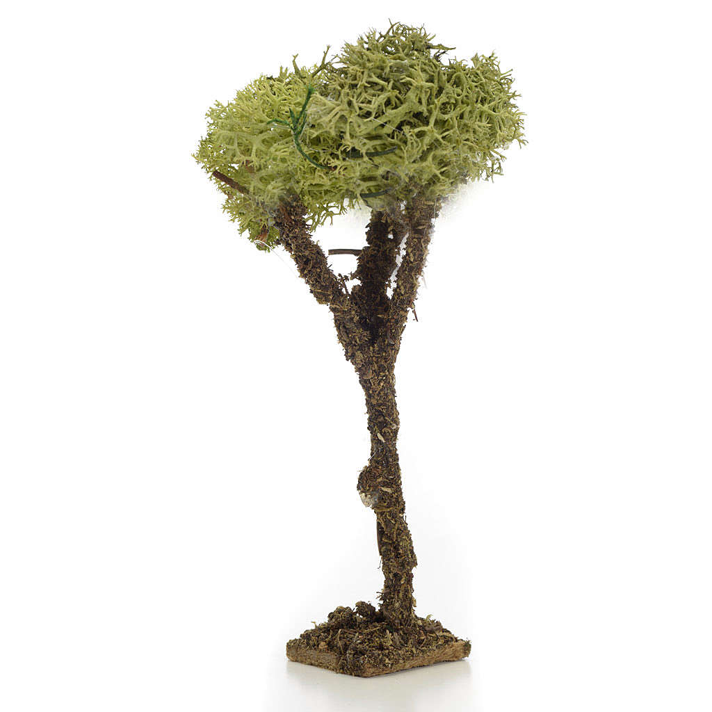Albero presepe con lichene 10 cm 4