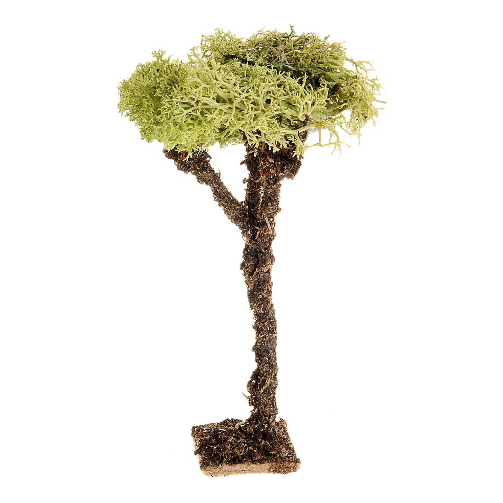 Nativity accessory, tree with lichen 10cm 4