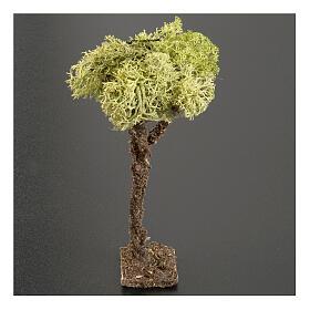 Nativity accessory, tree with lichen 10cm s2
