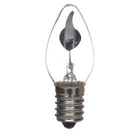 Luzes e Lamparinas para o Presépio: Lâmpada efeito chama presépio 1,5W E14