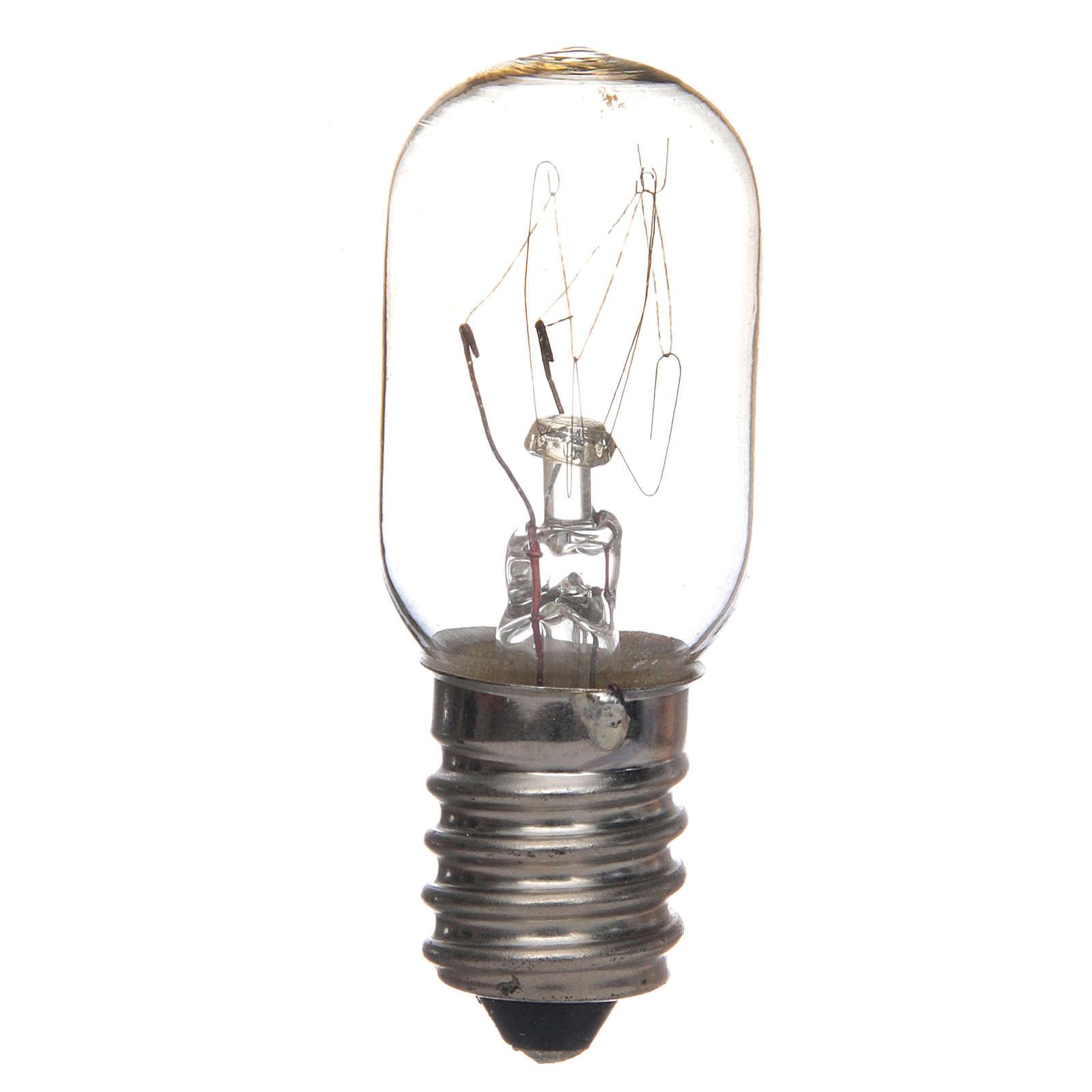 White light bulb for nativities 7W E14 4