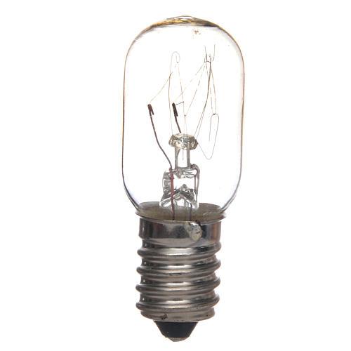White light bulb for nativities 7W E14 1
