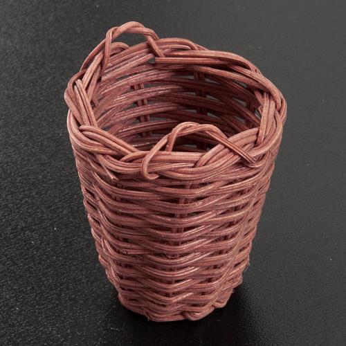 Weidenkorb für Bastelnkrippe 5 cm 2