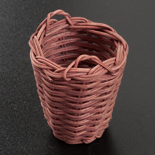 Nativity accessory, wicker basket 5cm 2