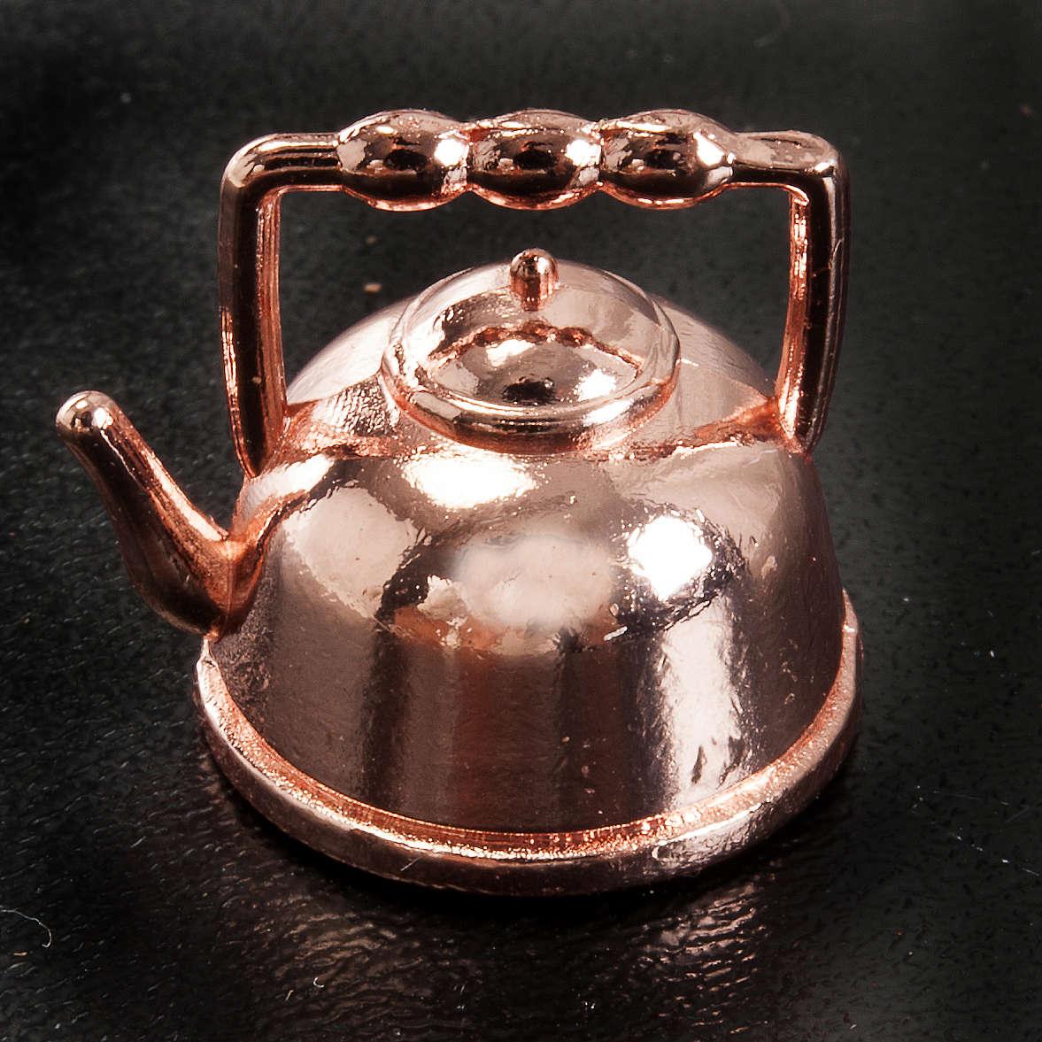 Teiera metallo presepe 1,5 cm 4