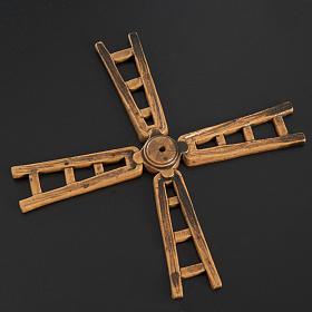 Nativity accessory, windmill vane in resin, 14cm s2