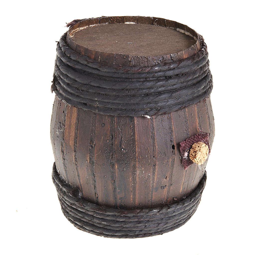 wooden barrel 11cm 4