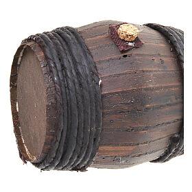 Barril de madera 11 cm.:  Pesebre Napolitano s2