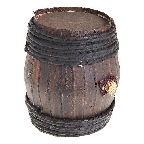 Barril de madera 11 cm.:  Pesebre Napolitano 1