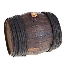 Botte legno 11 cm presepe Napoli s1