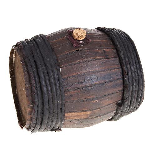 Botte legno 11 cm presepe Napoli 1