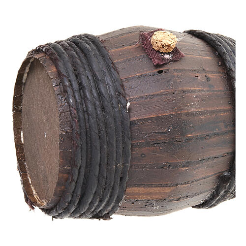 Botte legno 11 cm presepe Napoli 2