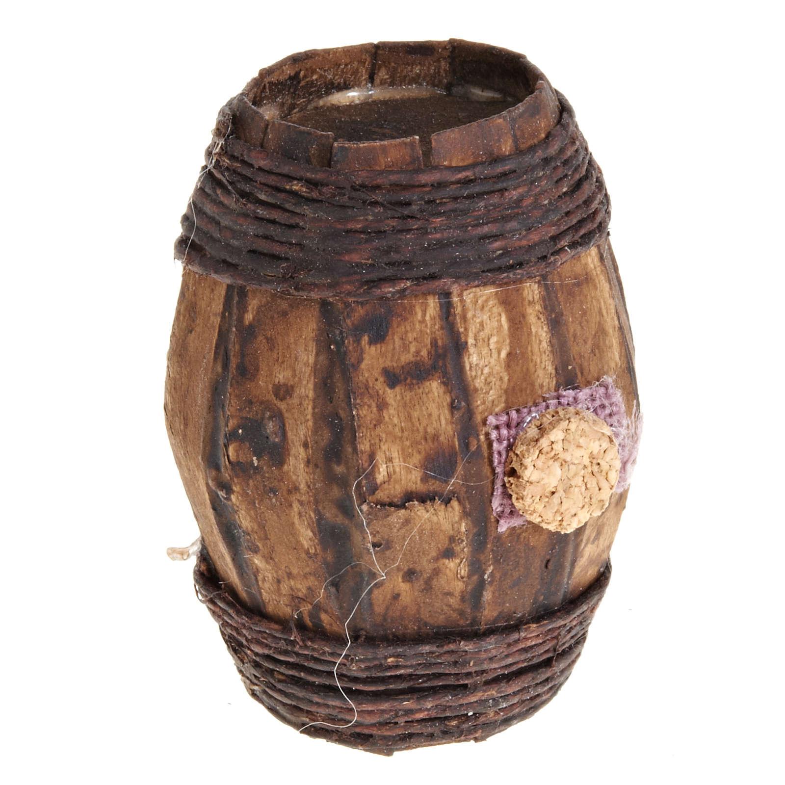 wooden barrel 6cm 4