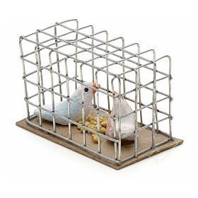 Pigeons 3 cm crèche napolitaine s4