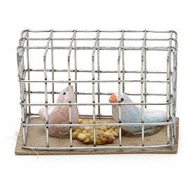 Pigeons 3 cm crèche napolitaine s1