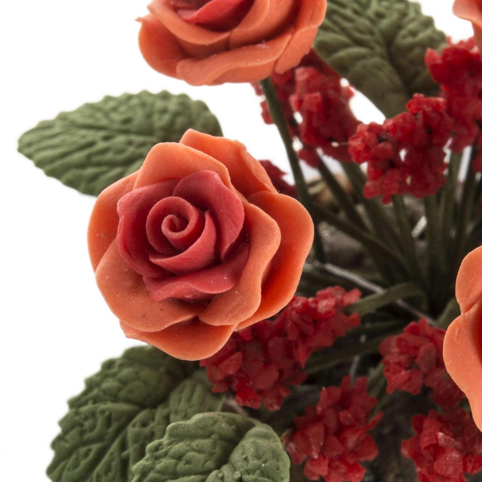 Roses miniature crèche Noel 4