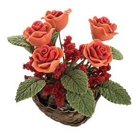 Roses miniature crèche Noel s1