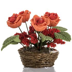 Roses miniature crèche Noel s2