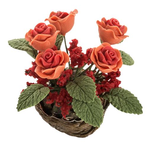 Roses miniature crèche Noel 1