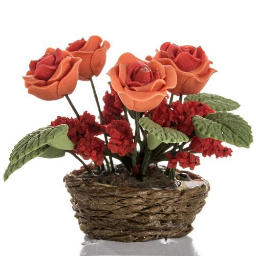 Roses miniature crèche Noel 2