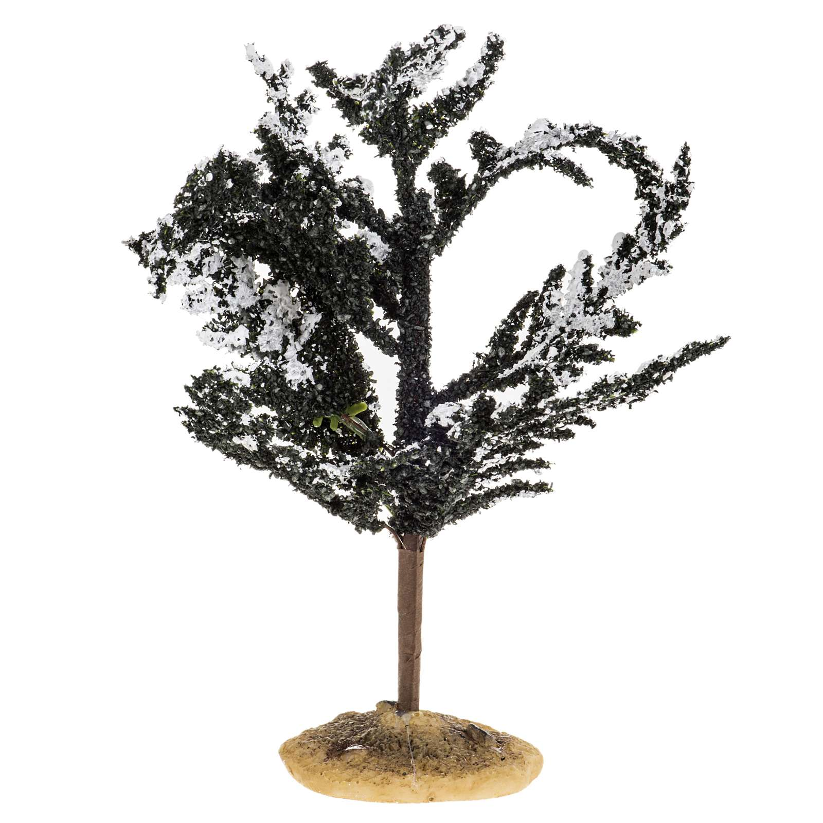 Nativity accessory, snowy tree H15cm 4