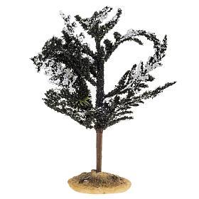 Nativity accessory, snowy tree H15cm s1