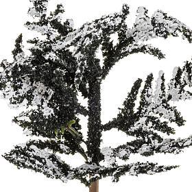 Nativity accessory, snowy tree H15cm s2