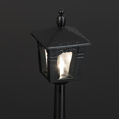 Lampione  a batteria cm 2X2X10 4