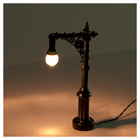 Battery powered street lamp, 4.5x2x10cm s2