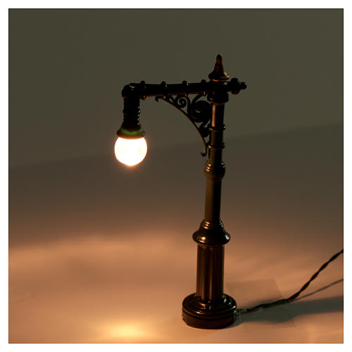 Battery powered street lamp, 4.5x2x10cm 2