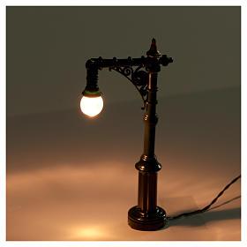Poste de luz a batería de 4,5x2x10cm s2