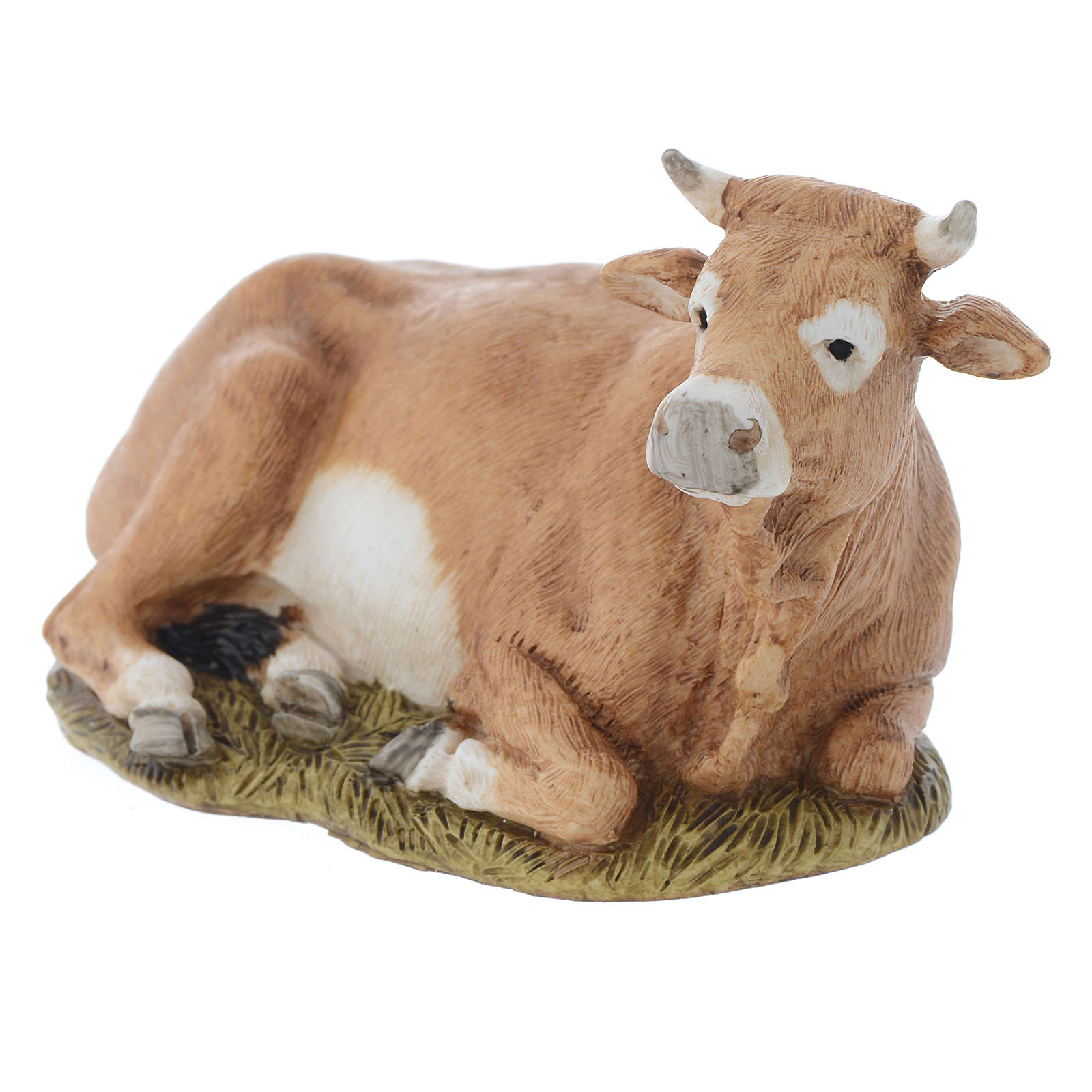 Nativity scene figurine, ox, 11cm by Landi 3
