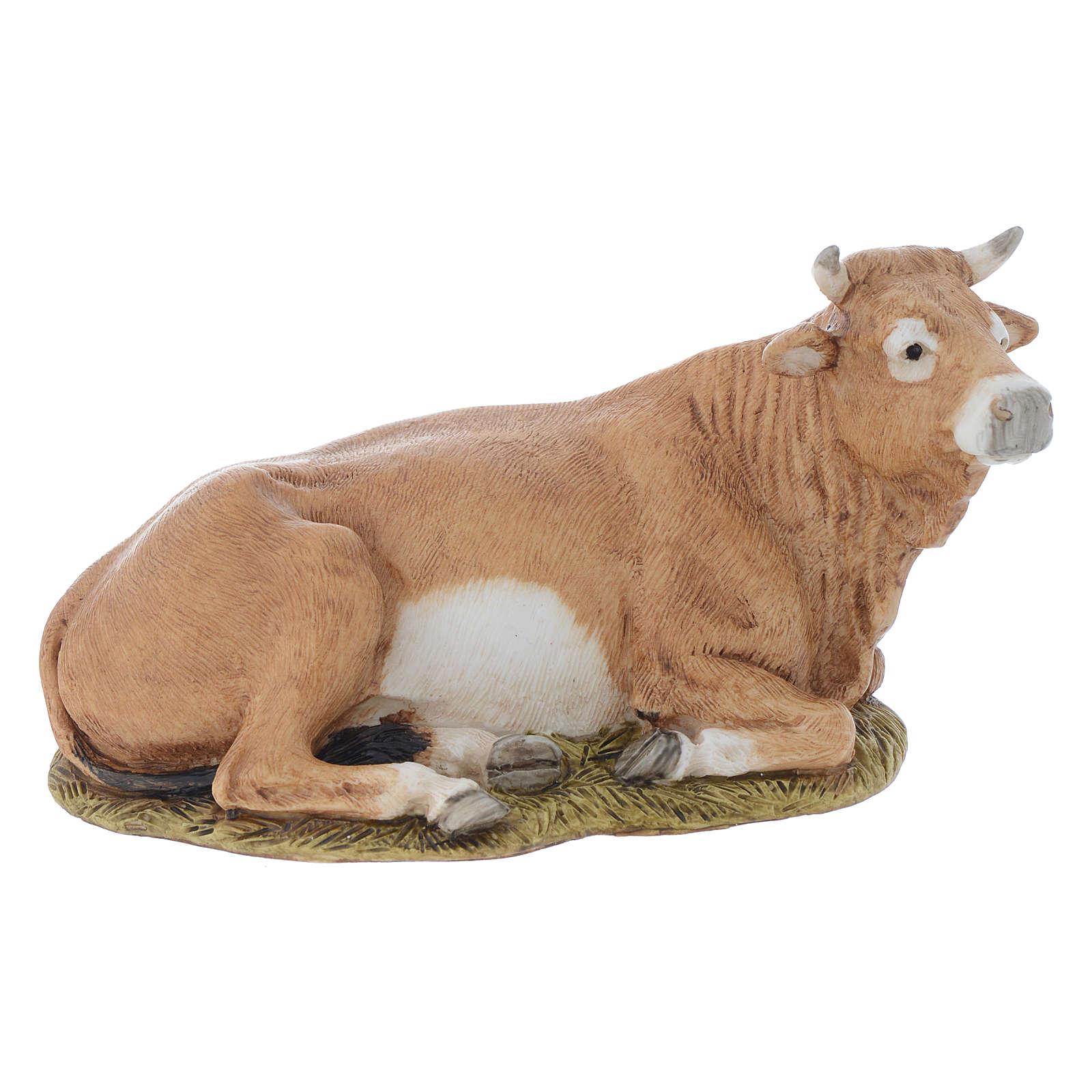 Nativity scene figurine, ox, 11cm by Landi 3