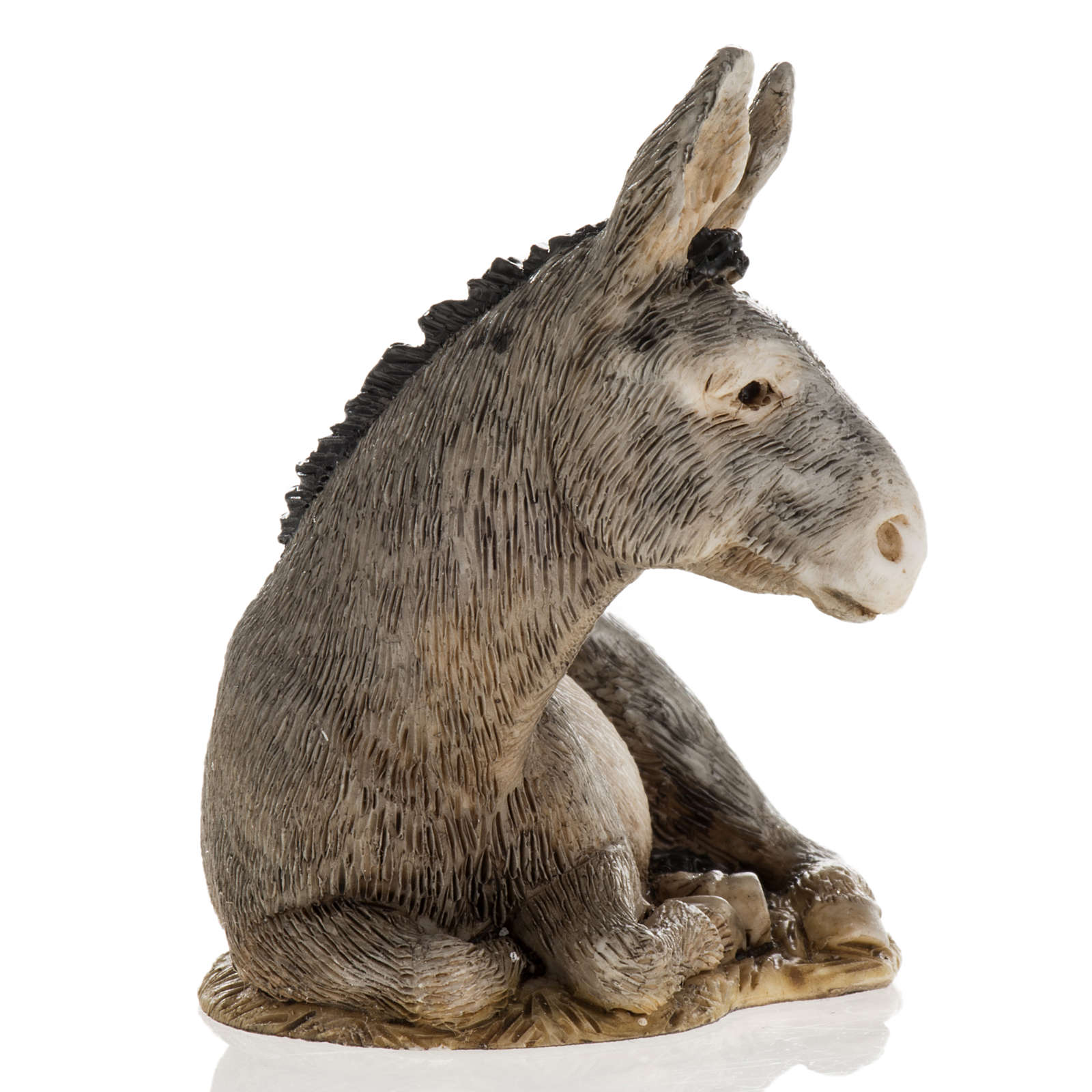 Nativity scene figurine, donkey, 11cm by Landi 3