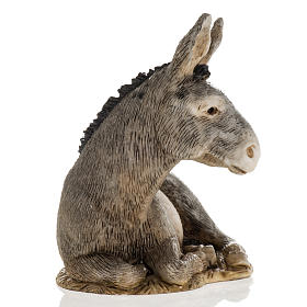 Nativity scene figurine, donkey, 11cm by Landi s3