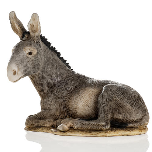 Nativity scene figurine, donkey, 11cm by Landi 2