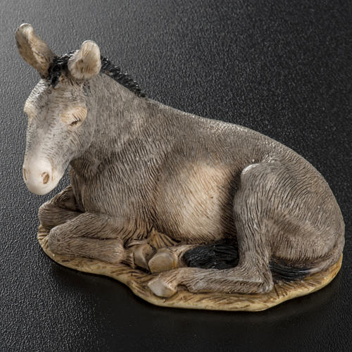 Nativity scene figurine, donkey, 11cm by Landi 4