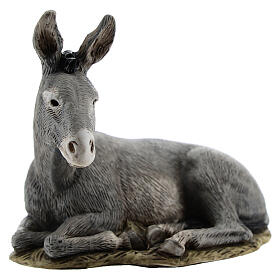 Nativity scene figurine, donkey, 11cm by Landi s1