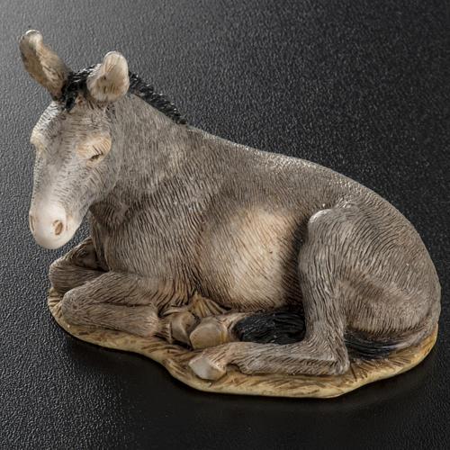 Nativity scene figurine, donkey, 11cm by Landi 4