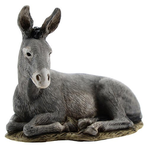 Nativity scene figurine, donkey, 11cm by Landi 1