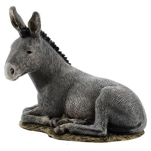 Nativity scene figurine, donkey, 11cm by Landi 2