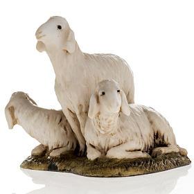 Trois moutons crèche de Noel Landi 11 cm s2