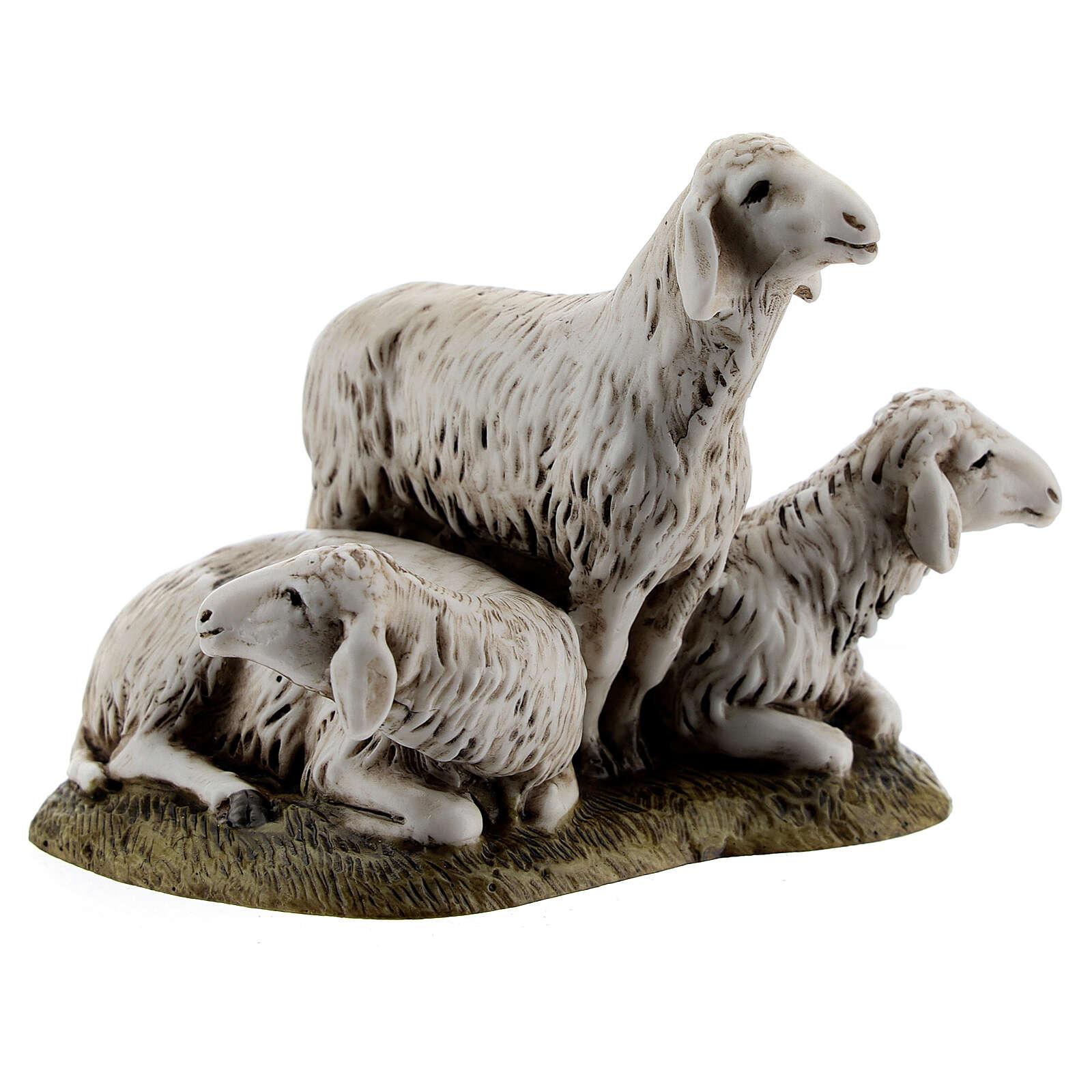 Gruppo 3 pecore 11 cm Landi 3