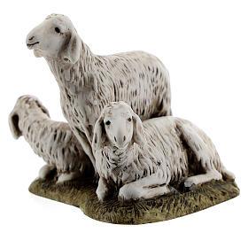 Nativity scene figurine, set of 3 sheep 11cm by Landi s2